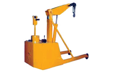 Hydraulic Battery Operated Floor Crane Ahmedabad